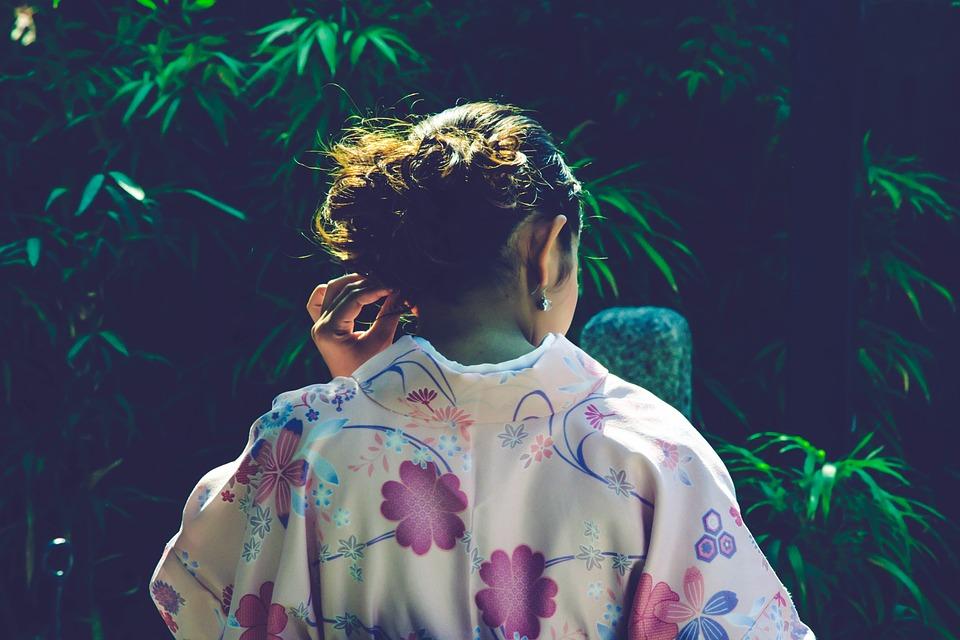 femme japonaise